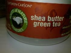 Shea Butter Green Tea