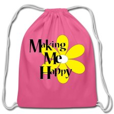 making-me-happydrawstringbag